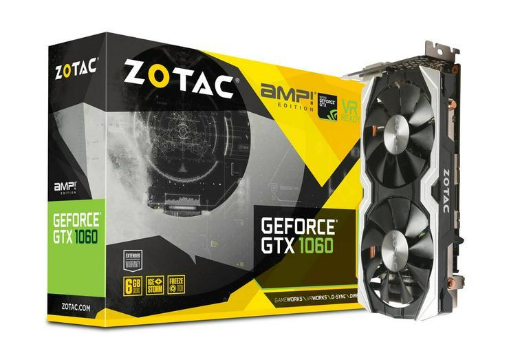 Zotac Geforce GTX 1060 6GB, top Zustand !