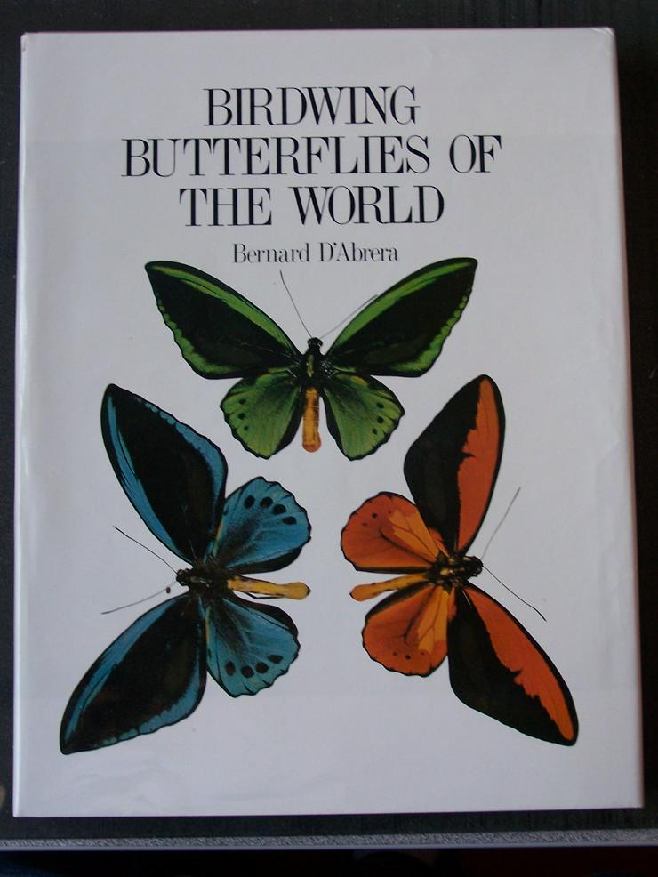 D´ Abrera; Butterflies of the world