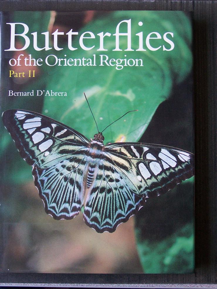 D`Abrera; Butterflies of the orientel region