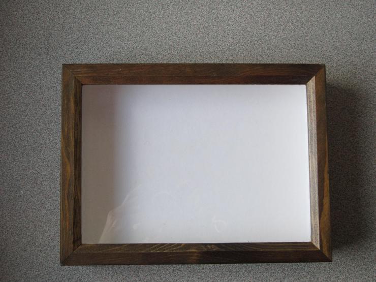 Bild 3: Holzdekorahmen