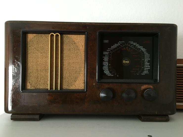 Bild 3: Röhrenradio Konvolut