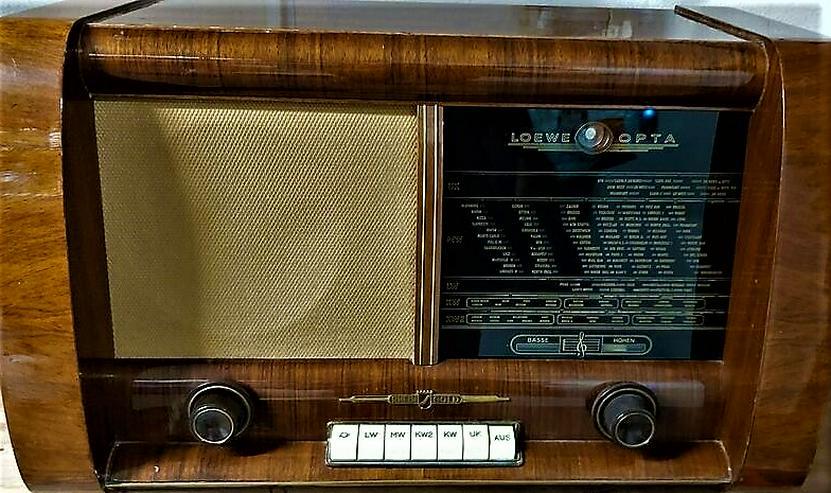 Röhrenradio Konvolut