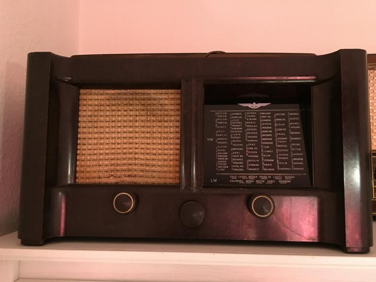Bild 2: Röhrenradio Konvolut