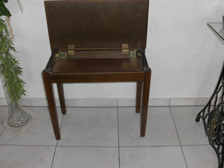 Klavierhocker mit Stauraum,für bis zu 2 Personen - Zubehör & Ersatzteile - Bild 1