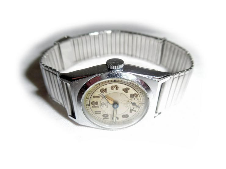 Bild 2: Seltene Armbanduhr von Bifora Anker