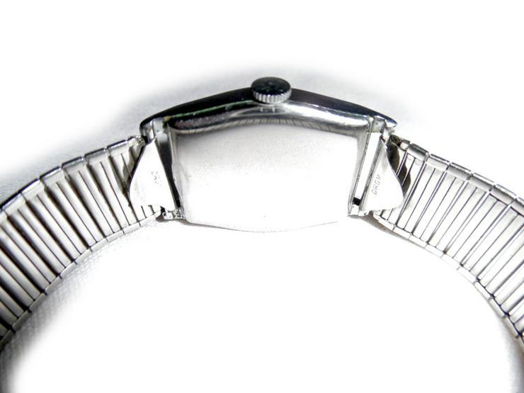 Bild 4: Seltene Armbanduhr von Bifora Anker
