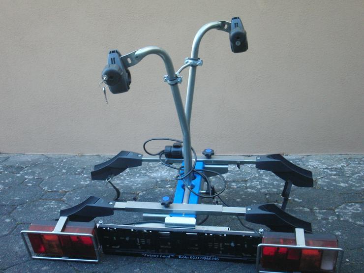 Bild 1: AHK-Radträger TwinnyLoad für 2 Räder (kein E-Bike)