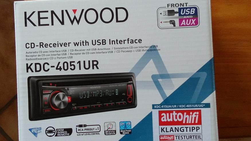 Autoradio neuwertig - Autoradios, Player & Wechsler - Bild 1