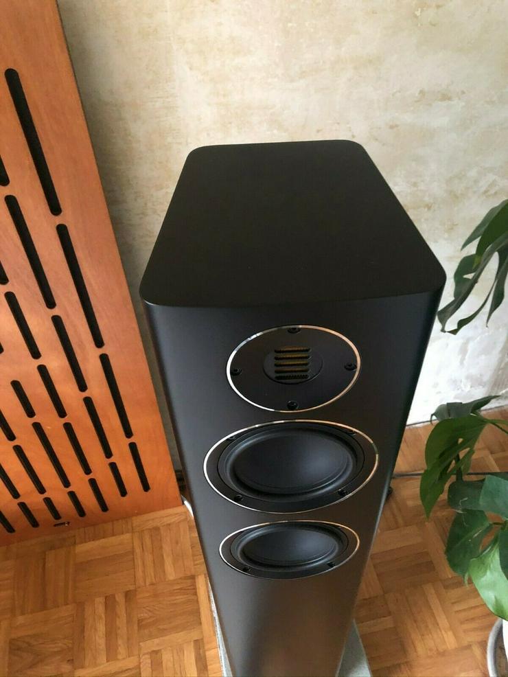 Bild 3: Elac Carina FS247.4 in Schwarz matt ein Paar