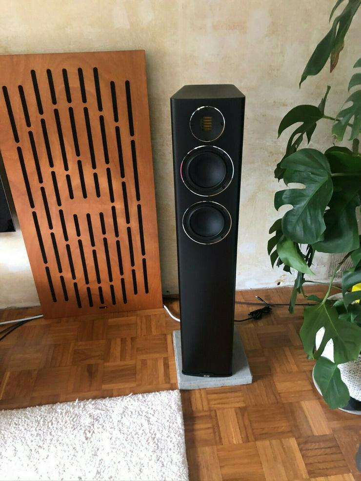 Elac Carina FS247.4 in Schwarz matt ein Paar - Lautsprecher - Bild 1