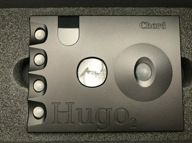 Chord Electronics HUGO 2 Black DAC Headphone Amp