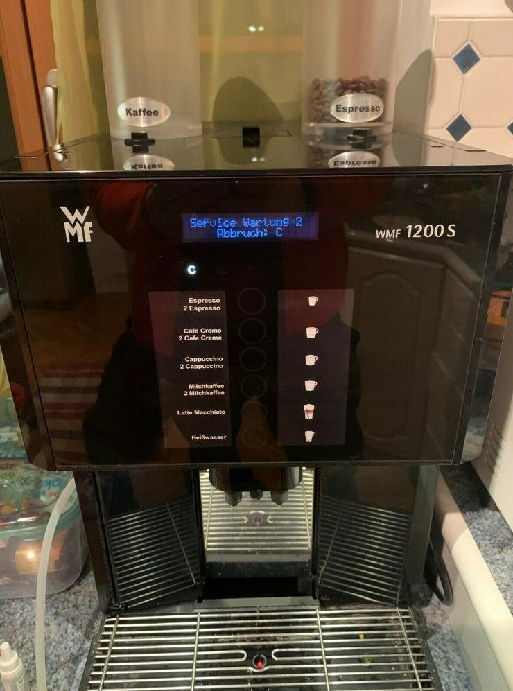 WMF 1200S Kaffeevollautomat - zu Verschenken - Bild 1
