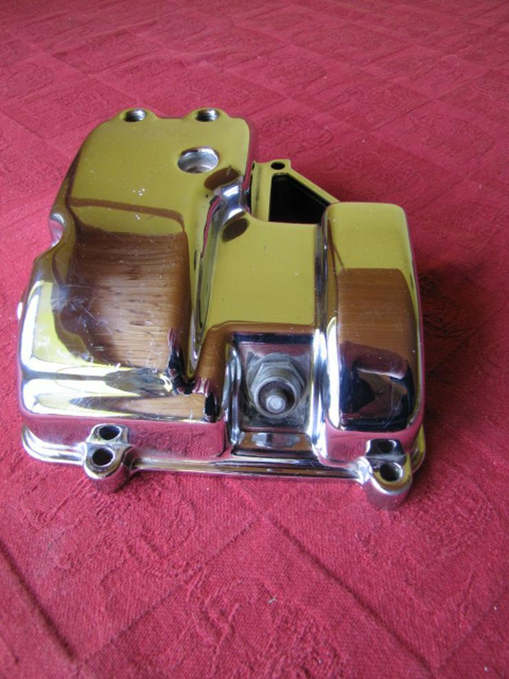 Harley-Davidson Deckel Getriebegehäuse Chrom OEM 34471-90