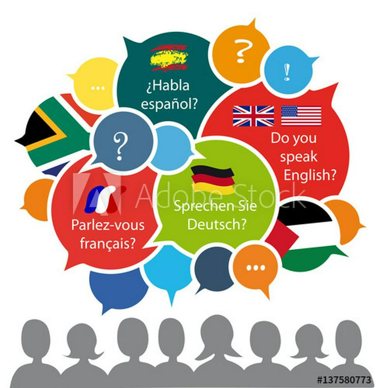 Englisch,Französisch,Latein,Spanisch,Italienisch