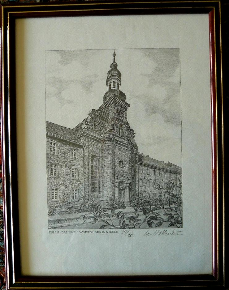 Waisenhaus Steele Grafik (B082) - Poster, Drucke & Fotos - Bild 1