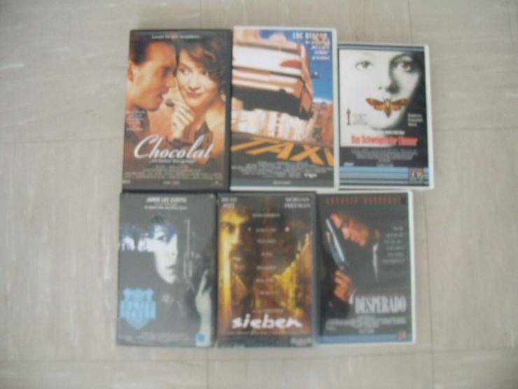 VHS-Kasetten Filme