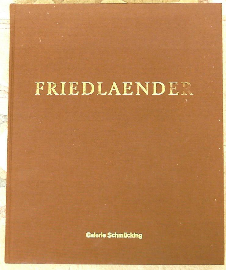 Werkverzeichnis Jonny Friedlaender (BU004)