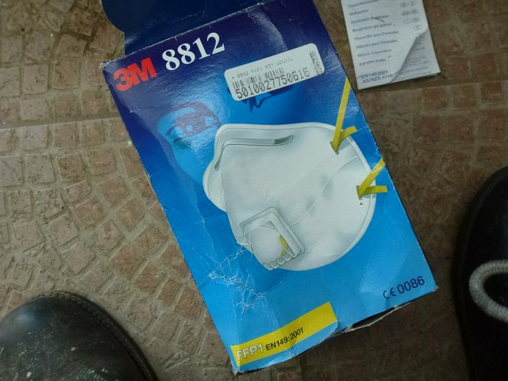 Feinstaubmaske  Schutzmaske 13 stück FFP 1 Mund-Nasenschutzmaske Atemschutzmaske