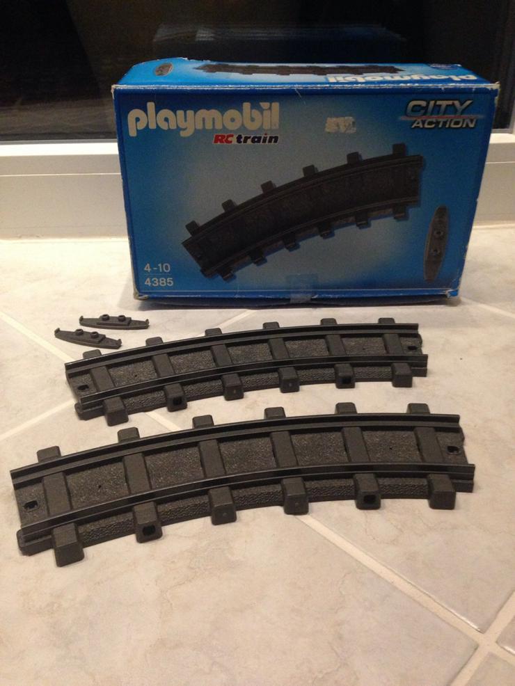 Schienen-Set Playmobil Eisenbahn RC Train 5258