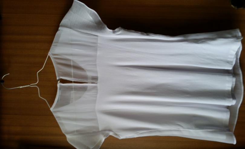 Bild 2: Shirt, Oberteil, Top, Gr. XS, weiß, Orsay, neu, sieht edel aus