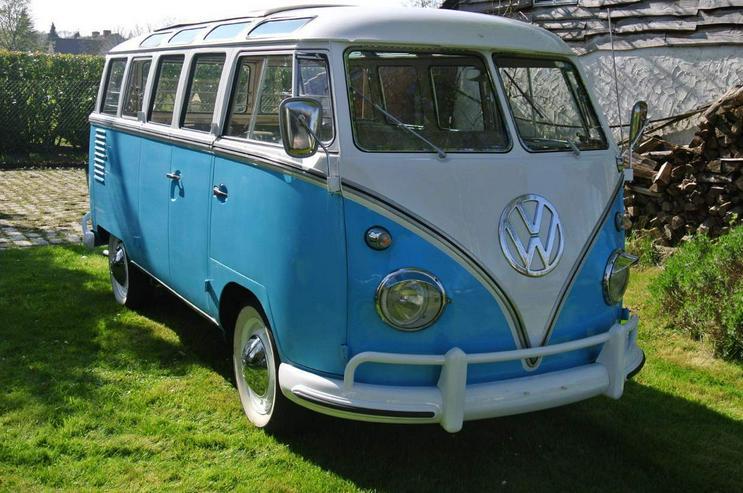 VW T1 SAMBA BUS 23 Fenster