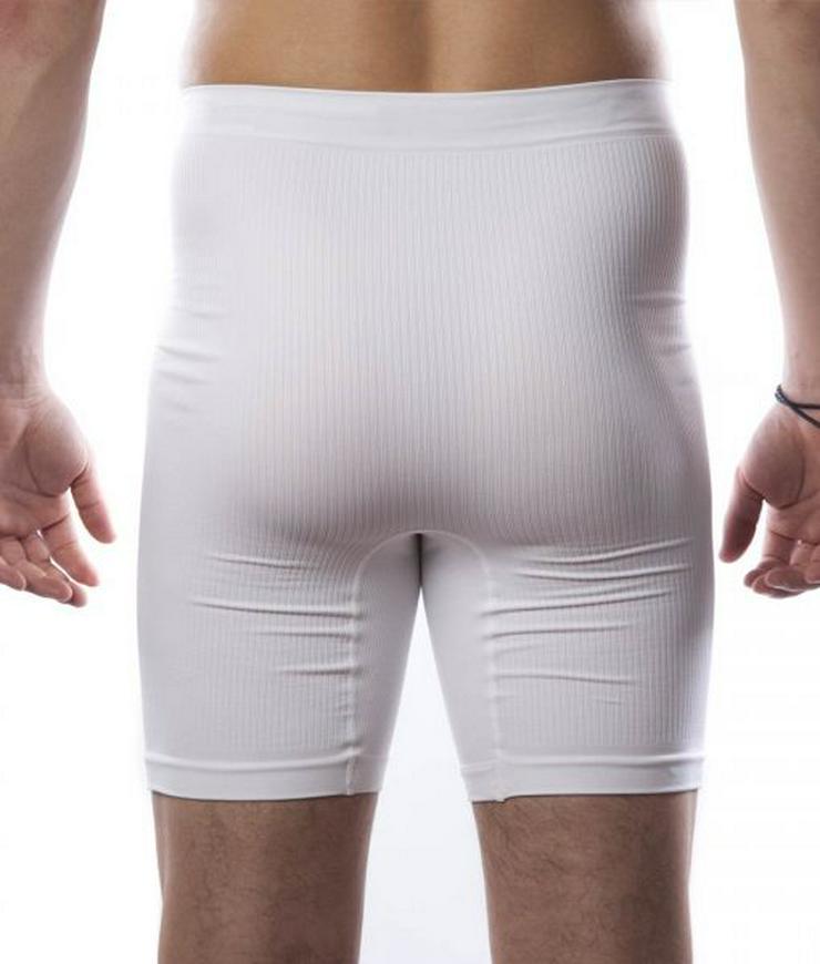 Bild 5: Stoma Lymphödem-leichte Kompression Boxershorts – Mittellang (unisex)