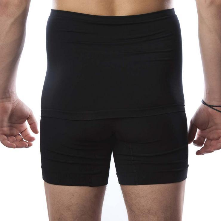 Bild 3: Hohe Taille Doppelschicht Stoma Boxer in Level 2 Support – Unisex