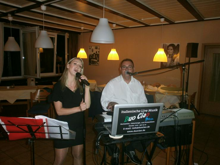 NOI DUO CIAO TUTTO MUSIK ITALIENISCH BAND LIVE
