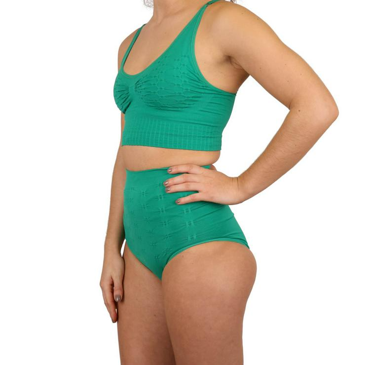 Bild 6: Ostomy / Stoma Support Schwimmhose für Frauen  Badebekleidung mit hoher Taille