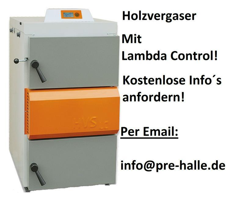 1A Holzvergaser Solarbayer HVS 16 LC. Kessel Heizung Vergaser