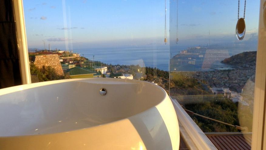 Bild 2: Türkei, Alanya, private, frei stehende 4 Zi. Villa mit Panorama Meerblick, 345