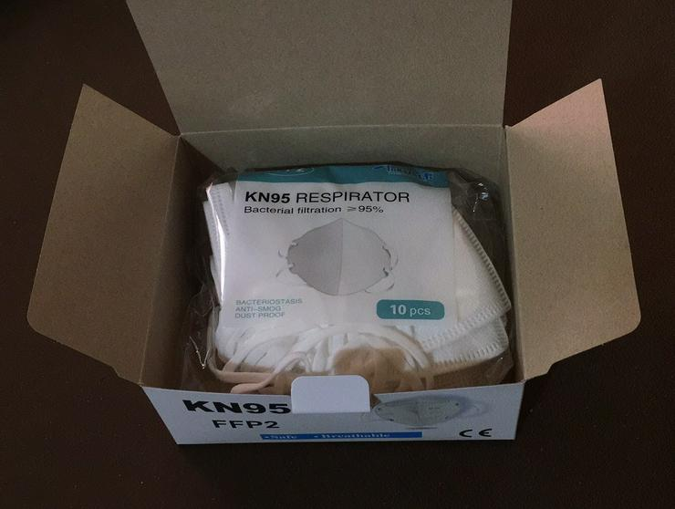 KN95 FFP2 Schutzmasken 4.800 St. oder 6.000 St. - Hygiene & Desinfektion - Bild 1