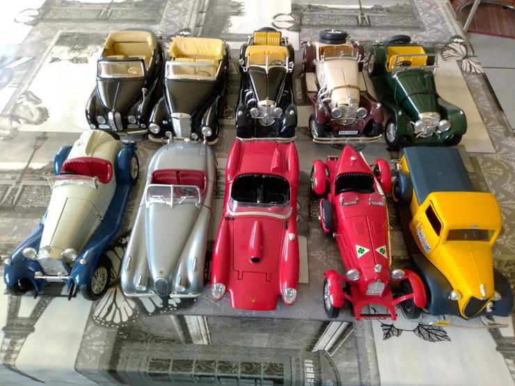 Modellautos zu verkaufen