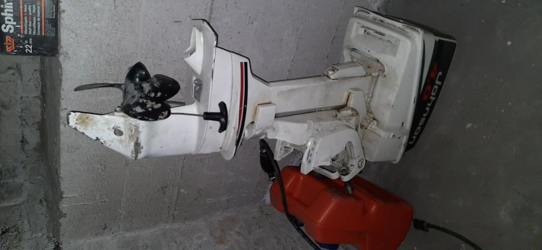Johnson 4.0 Deluxe Bootsmotor - defekt, an Bastler - Motor-Teile & Zubehör - Bild 1