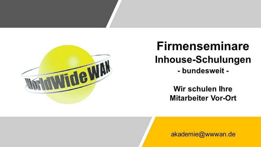 Bundesweite IT-Firmen-Seminare (Schulung Training Beginner Einsteiger Online Webinar Grund-Kurs Grundlagen Inhouse, Vor-Ort)