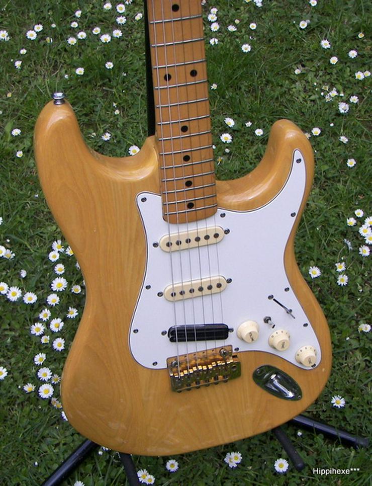 Verkaufe Vintage E-Gitarre von Hohner Made in Japan mit passendem Gitarrenkoffer