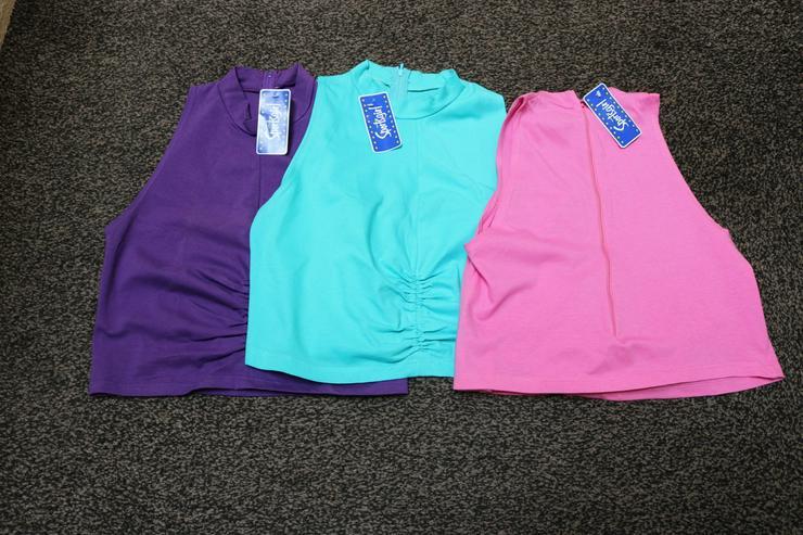 3 Stck. Tops, lila,pink,grün, Sportsgirl