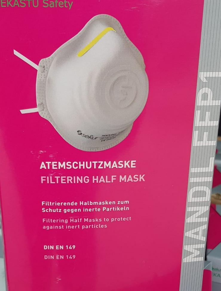 FFP1 Maske Ekastu 12 Stück - Hygiene & Desinfektion - Bild 1