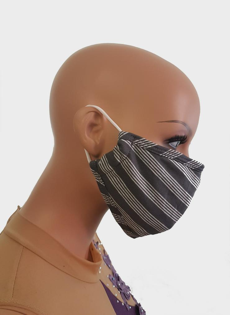Mund- und Nasenmaske/ Behelfsmaske aus Baumwolle , waschbar