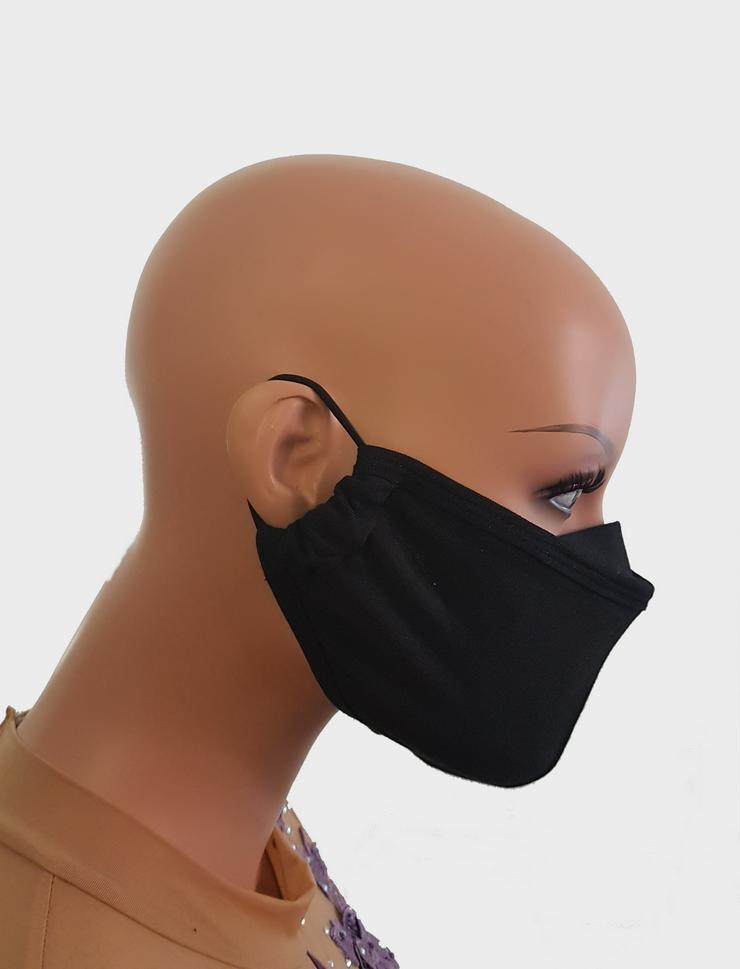 Mund- und Nasenmaske/ Behelfsmaske aus Baumwolle (2-3 lagig), waschbar
