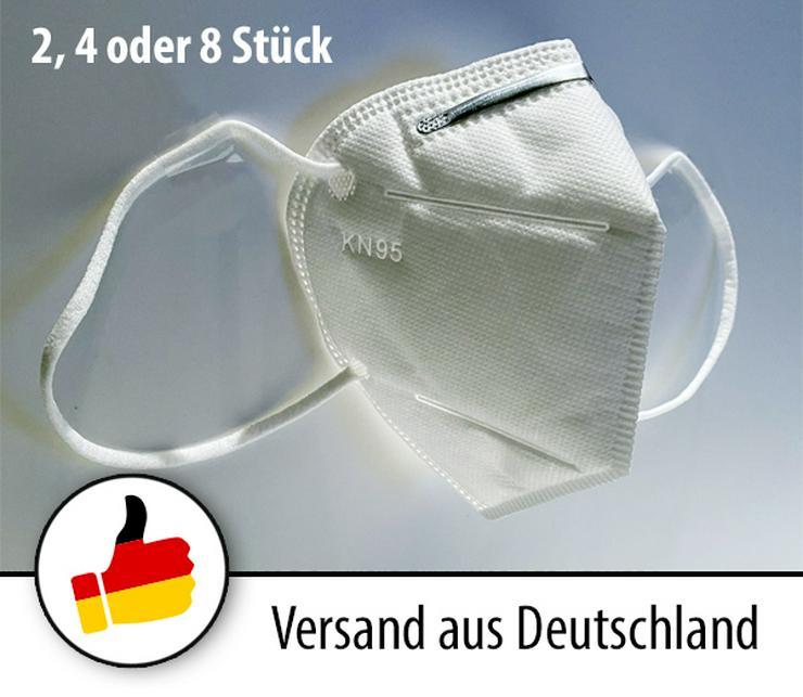Atemschutzmaske Maske Mundschutz Feinstaubmaske Atemschutz KN95 / FFP2 CE - Hygiene & Desinfektion - Bild 1