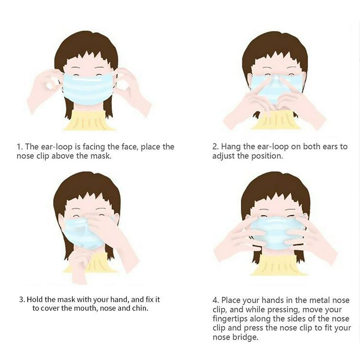 Bild 4: Mundschutz Maske 10 Stück pro set