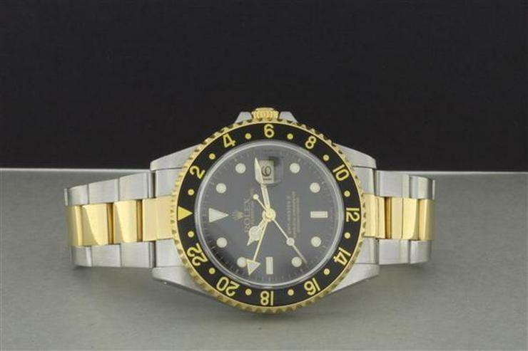 ROLEX GMT-MASTER II 16713 STAHL/GOLD - Uhren - Bild 1