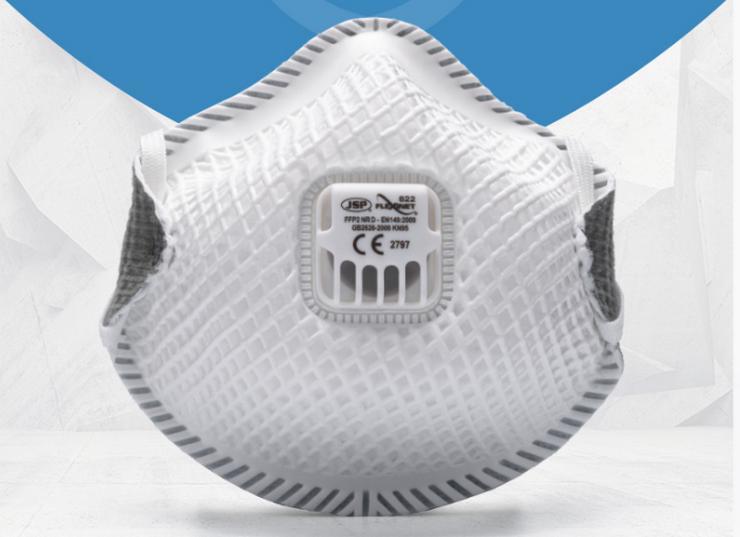 JSP FFP2 Atemschutzmaske FFP2 Flexinet 822 mit Ventil im Stück - Hygiene & Desinfektion - Bild 1