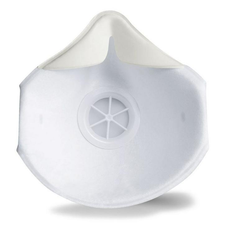 Bild 2: uvex silv-Air 2210 FFP2 NR Atemschutzmaske  mit Ventil 1 Stück