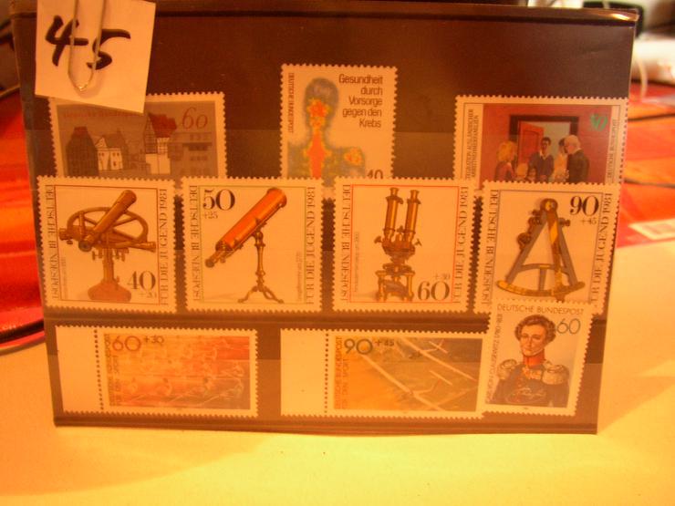 Bild 5: Briefmarken Deutschland postfrisch zu verkaufen