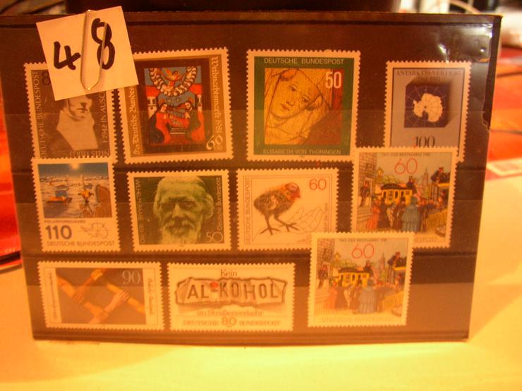 Bild 2: Briefmarken Deutschland postfrisch zu verkaufen