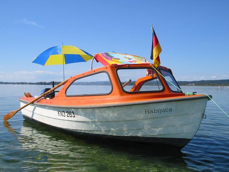 Bade- und Fischerboot