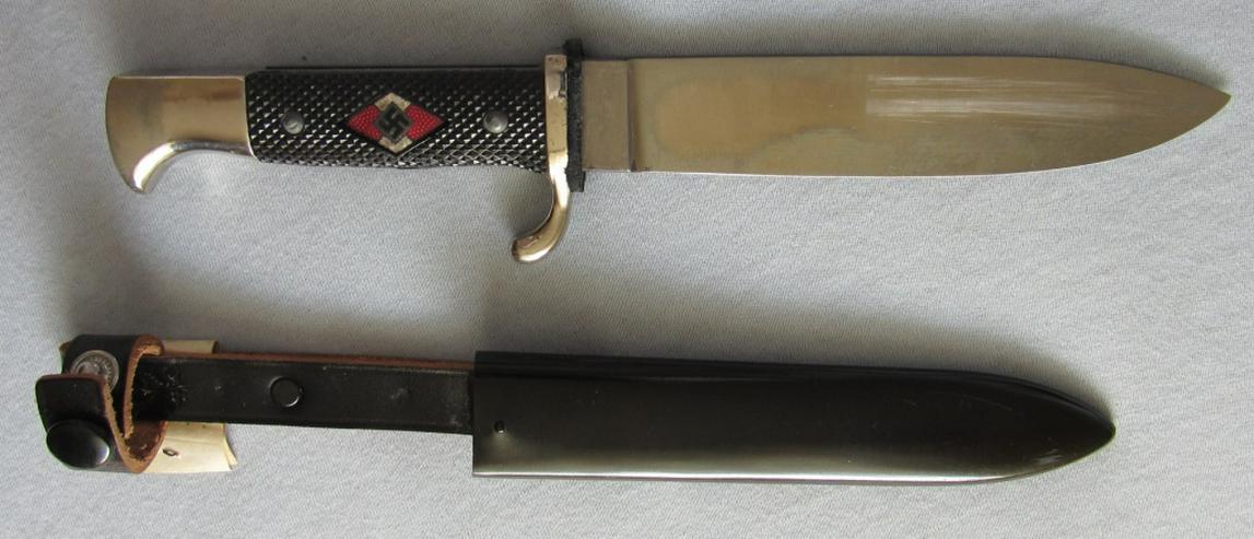 HJ Messer aus Wk2, RZM M7/29 1942