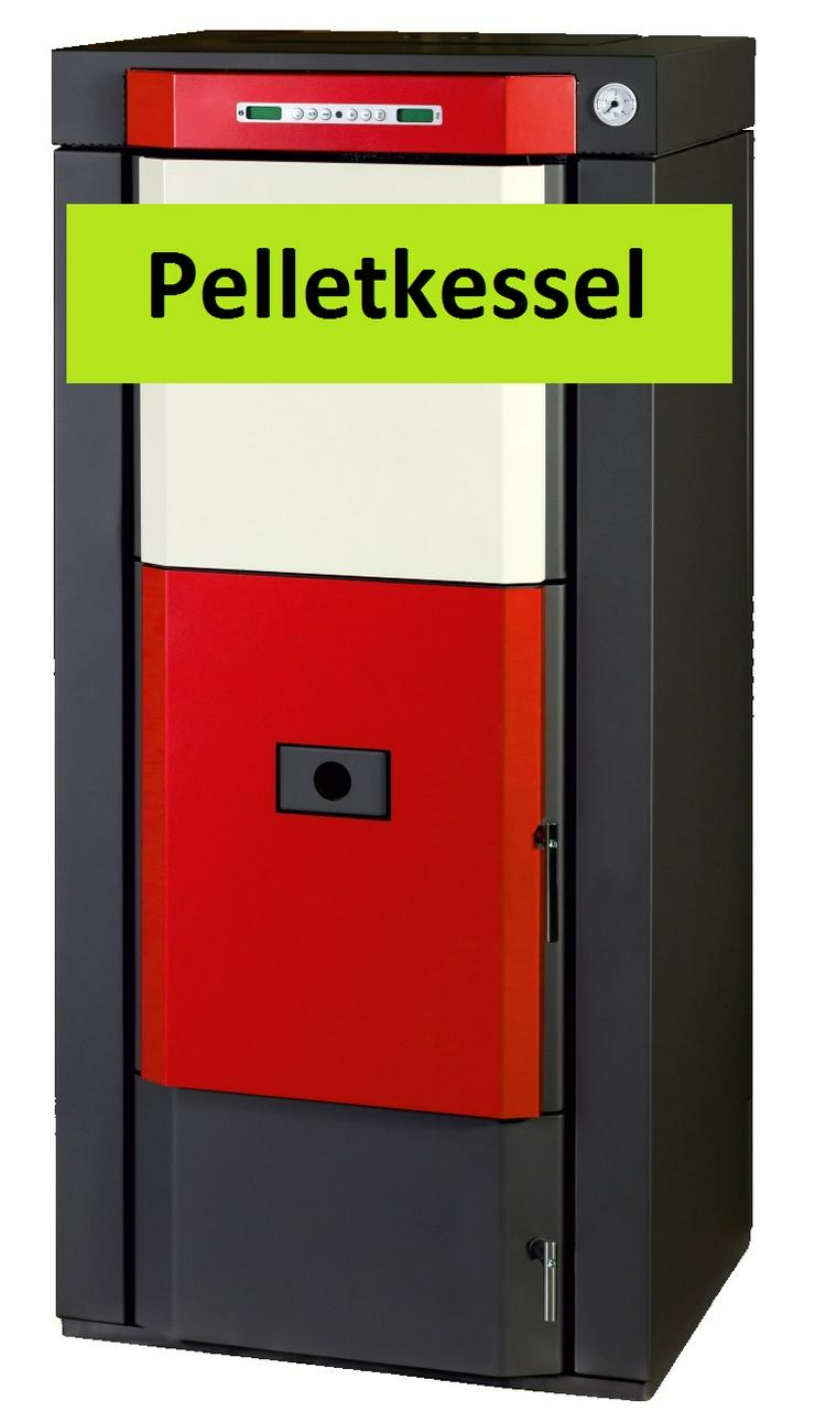 Pelletkessel Classic P 16.5 Heizung + 14 m² Flachkollektor Solar prehalle